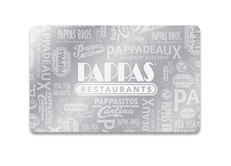 Restaurant Gift Cards That Can Be Emailed - pappadeaux seafood kitchen gift cards from cashstar