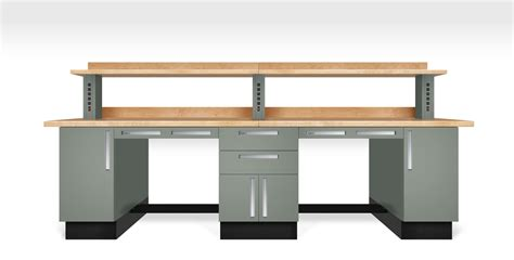 professional work bench laboratory furniture by teclab
