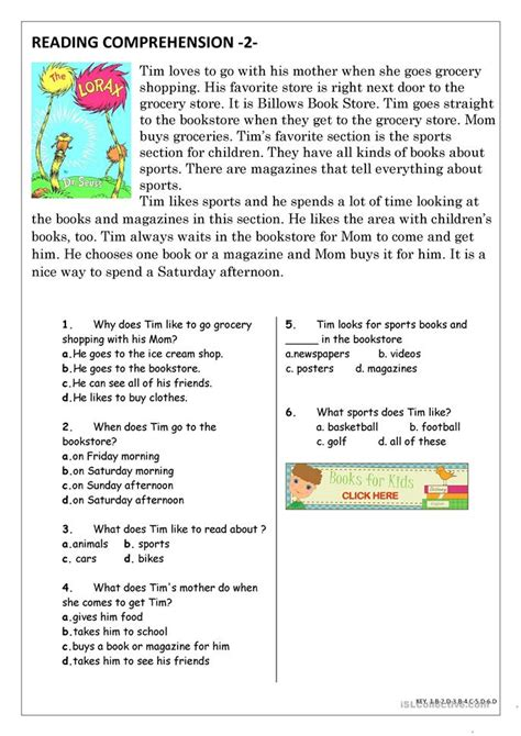 Reading Worksheets For Elementary Students by Tenses Lesson Plan Worksheet Free Esl Printable