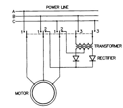 single phase induction motor braking braking and reversing induction motor