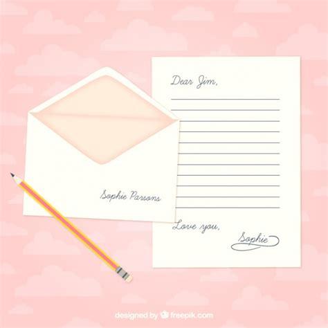 Word Vorlage Liebesbrief Liebesbrief Vorlage Der Kostenlosen Vektor