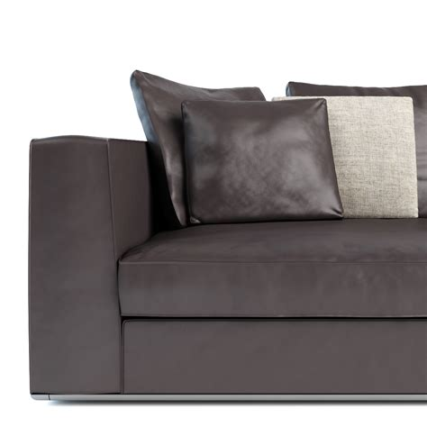 powell sofa minotti powell 112 sofa 3d model on behance