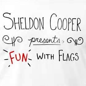 bid significato sheldon cooper presents with flags the big