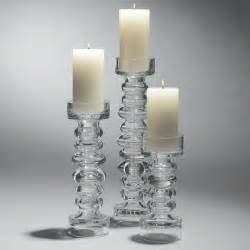 Candle Holder With Glass Glass Pillar Candle Holder Glass Pillar Candle Holders