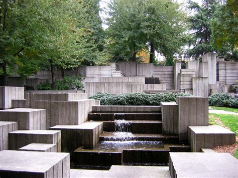 landscape architect seattle halprin landscape architect freeway park