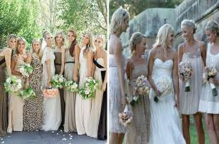 different color wedding dresses gray bridesmaid dresses the bridal loft