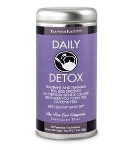 Daily Detox All Tea by Daily Detox Tea Tin Vx 8126 Dailydetox Swag Brokers