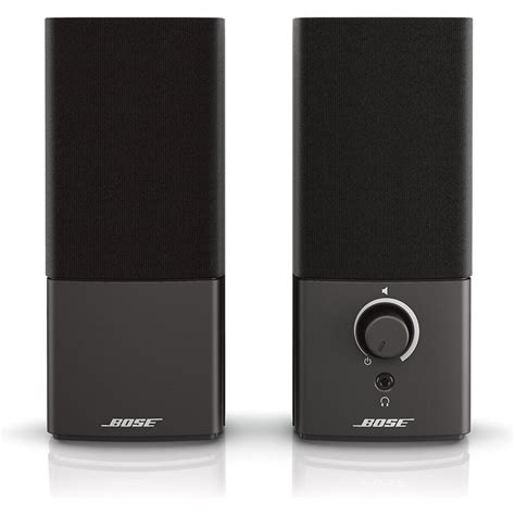 bose companion  series iii multimedia speaker system west coast  fi
