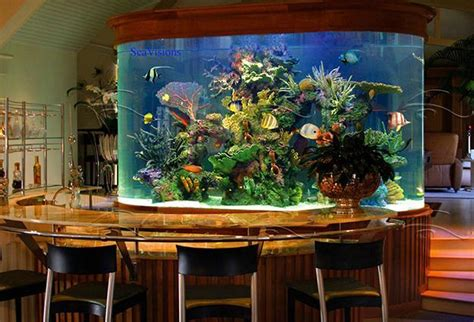 30 Creative Aquariums Ideas For Fish Lover. #14 Is Best!