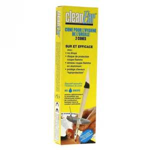 cones pour l hygiene de l oreille 2 cones clean ear