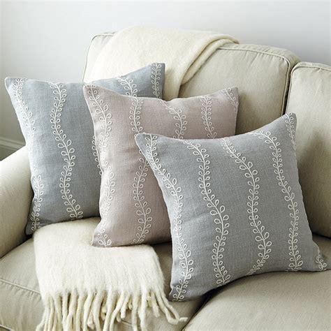 ballard designs pillows burlap embroidered pillow ballard designs