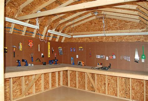 workshop shed layout great workshop in the shed man cave ideas pinterest