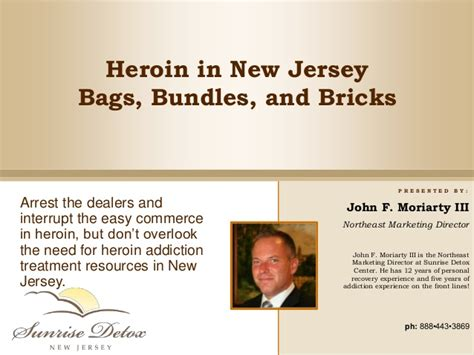 Heroin Detox Centers In Nj heroin addiction treatment in new jersey bags bundles