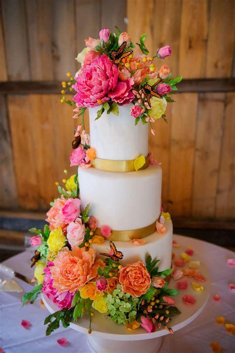design flower cake 40 wedding cake designs with elaborate fondant flowers