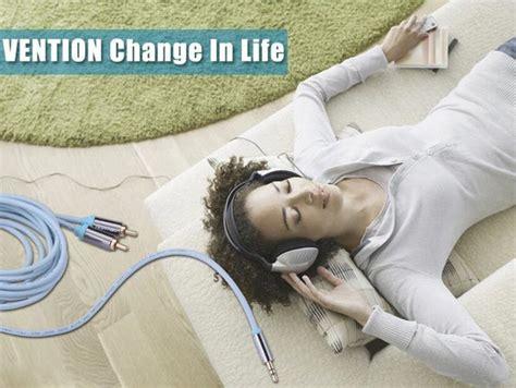 Vention Kabel Aux 35mm To 2 Rca 1 Meter P560 k 246 p konventionen 5m hane till 2rca audiokabel 3 5mm aux