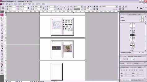 layout view indesign 13 best photos of print booklet layout template book
