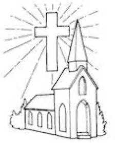 coloring pages going to church gallery