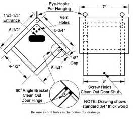wren bird house plans wren house