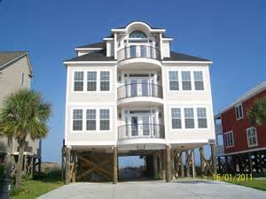 myrtle house rentals oceanfront with pool house
