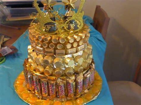 golden birthday candy cake empty golden birthday gifts
