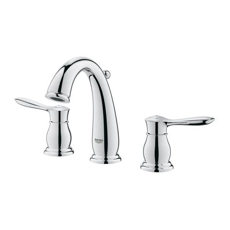 grohe parkfield bathroom faucet grohe 20390000 parkfield 8 in widespread bathroom faucet