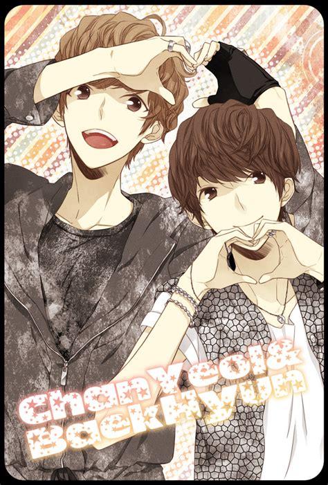 wallpaper anime exo exo k k pop mobile wallpaper 1097164 zerochan anime