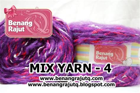 Benang Mix benang rajut limited mix fancy yarn 4 benangrajutq