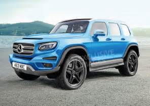 What Is Mercedes Mfa2 Based Mercedes Glb Suv Coming To 2019