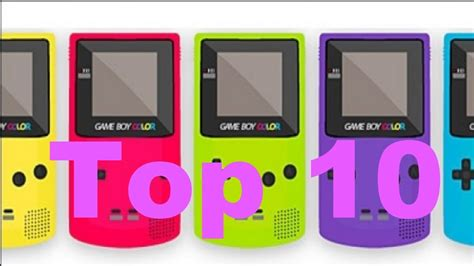 top gameboy color top 10 gameboy colour terrible