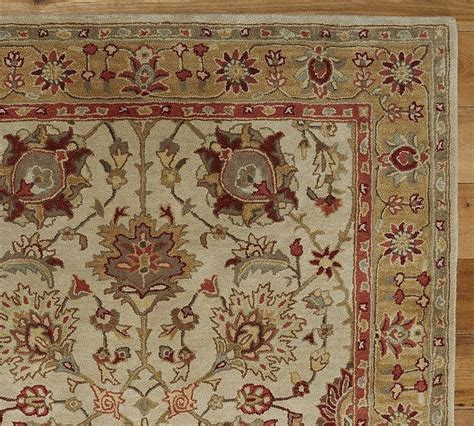 New Pottery Barn Handmade Persian Brant Area Rug 8x10 Pottery Barn Area Rugs