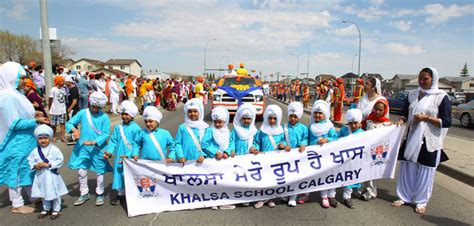 along with the gods calgary calgary sikhs hit the streets for annual parade a