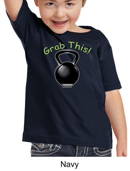 Grabbed By The Ghoulies Youth Kid T Shirt Size Xl shirt grab this kettle bell toddler t shirt