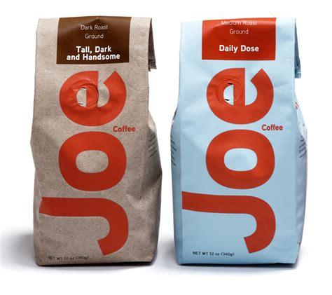 Joa Coffee joe coffee the dieline packaging branding design
