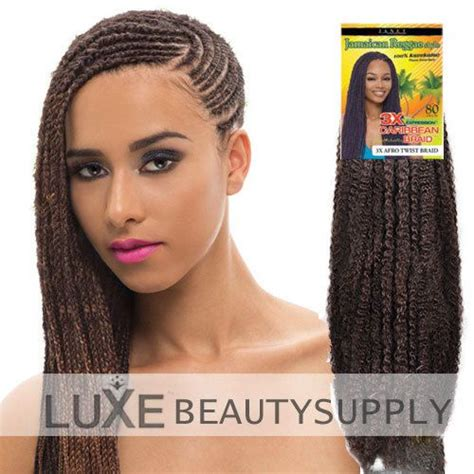 afro caribbean braided hairstyles luxe beauty supply janet collection 3x caribbean braid
