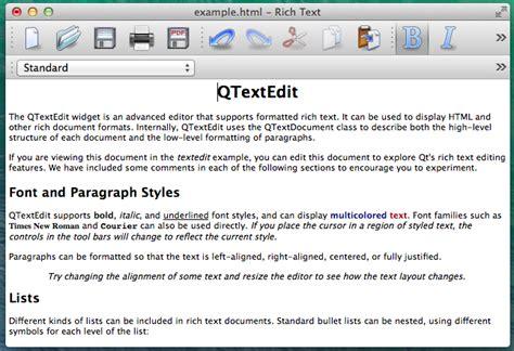 qt tutorial text editor qt weekly 14 testing accessibility on os x qt blog