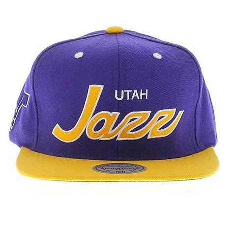 utah jazz colors utah jazz the script snapback craniumfitteds