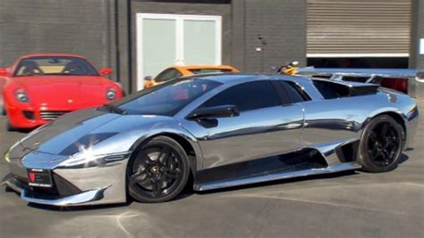 Verchromtes Auto by Flashy Chrome Cars Could Pose A Hazard Inside Edition