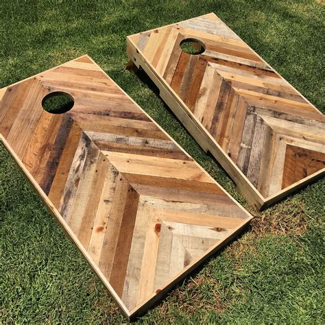 design a zelf game a ordable official corn hole dimensions diy pallet chevron