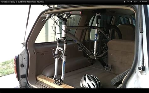 Interior Bike Rack by Rack Carry Road Bike Inside An Suv Bicycles Stack Exchange