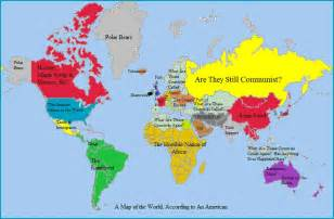 america map living rootless another geography lesson americans map of the world