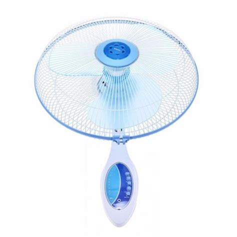 Kipas Angin Berdiri Remote miyako kipas angin dinding wall fan miyako with remote kaw 1689rc biru elevenia
