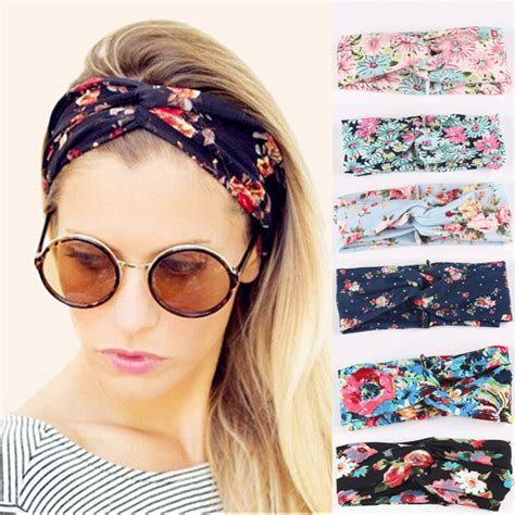Bando Turban Bandana Headband 2in1 Twist fashion turban twist knot wrap headband twisted knotted hair band ebay