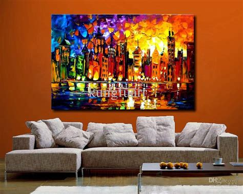 large artwork 100 hand painted large canvas oil painting modern
