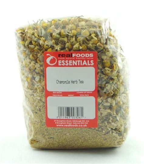 White Tea Herbal 25gr chamomile flowers herb tea from real foods buy bulk