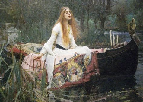 a preraphaelite lady two preraphaelite john waterhouse the lady of shalott waterhouse was an english painter known for working in the
