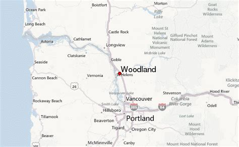 woodland oregon map woodland washington location guide