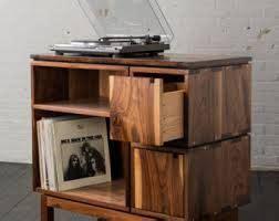 lade acetilene idee voor meubel voor platenspeler en platen met lades