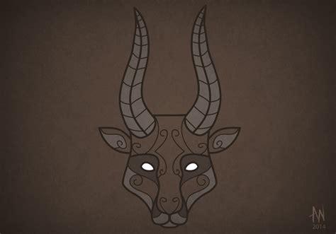 printable antelope mask antelope mask by adele waldrom on deviantart
