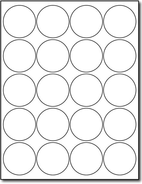 Round Labels Circle Labels Ol325 167 Circle 17 Images Of Avery Circle Template Leseriailcom Avery 2 Inch Circle Label Template