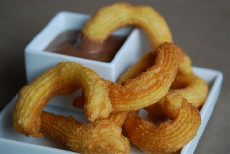 spanische kuchen tapas spanische churros mit hei 223 er schokolade rezept